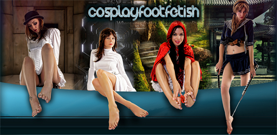cosplayfootfetish
